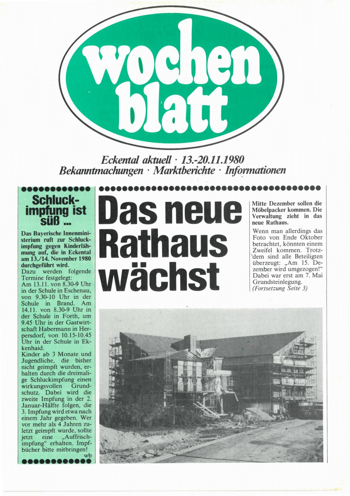 wochenblatt Ausgabe 1980#46