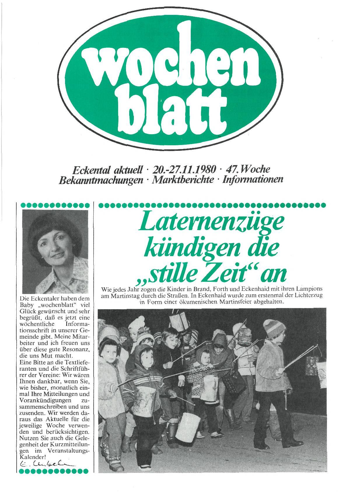wochenblatt Ausgabe 1980#47