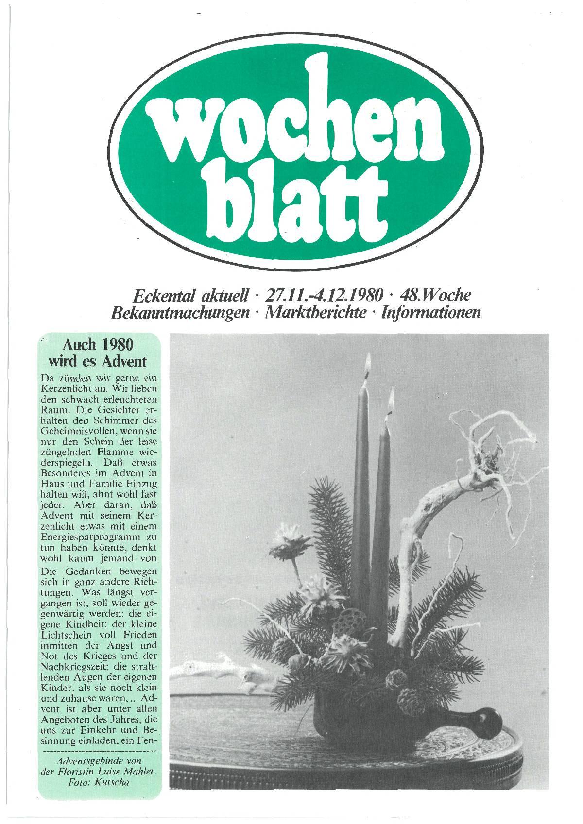 wochenblatt Ausgabe 1980#48