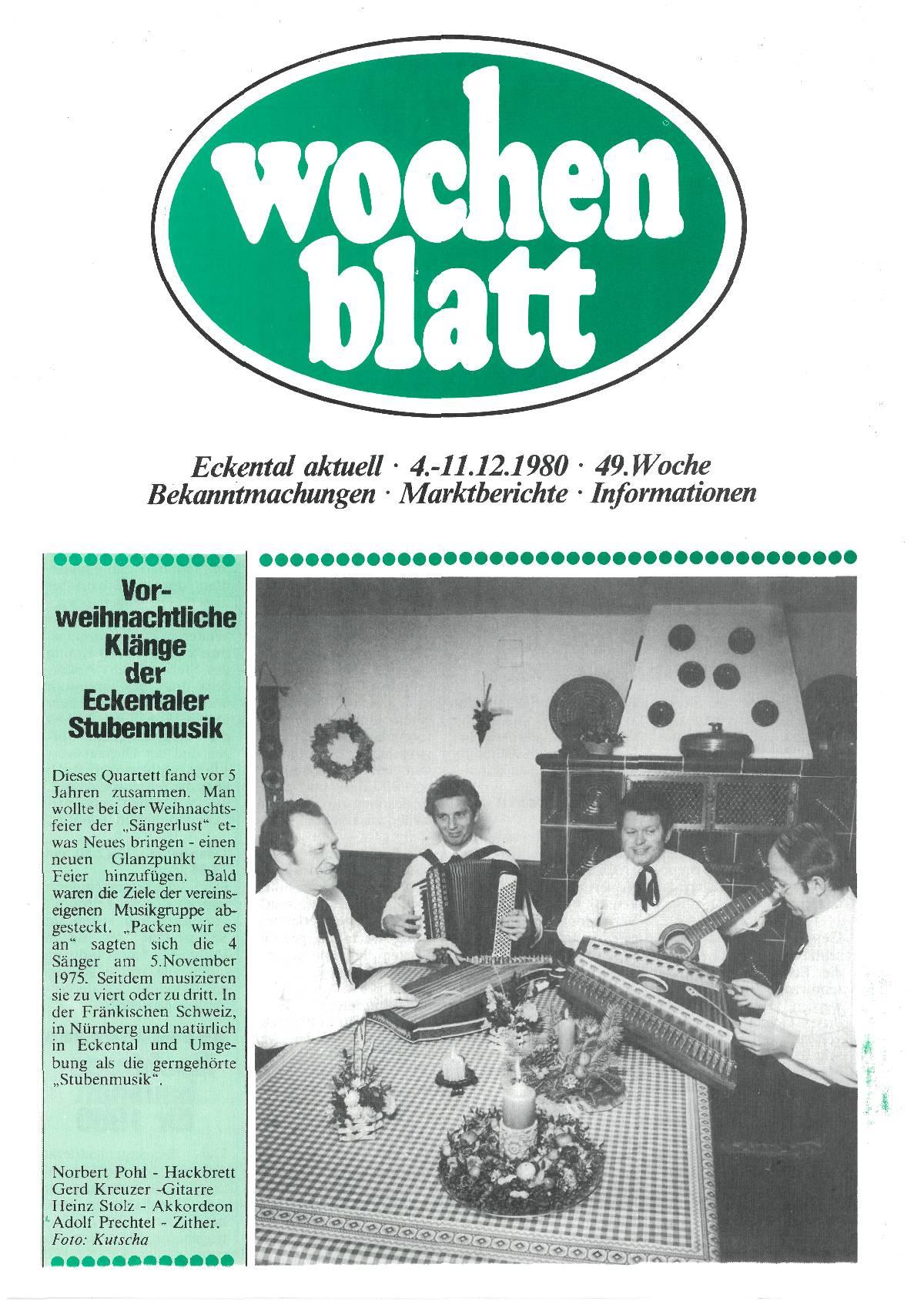 wochenblatt Ausgabe 1980#49